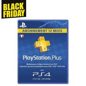 Abonnement 12 Mois Playstation Plus
