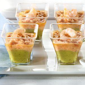 Verrines Avocat Cocktail De Crevettes  - 6 x 45 g