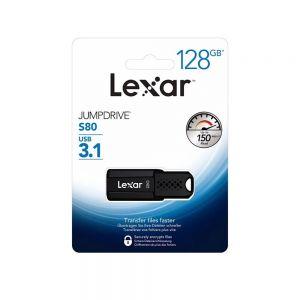 Clé USB LEXAR 128gb 3.0 jumpdrive - ref. V100 LJDV100128GABGY