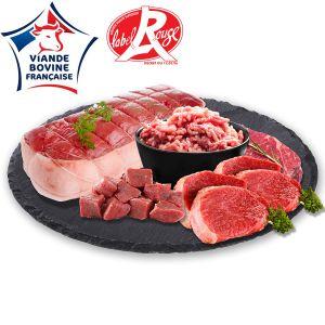 Le Colis Bœuf Label Rouge - 3 kg
