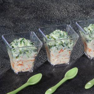 Verrines Tartare de Concombres et Surimi - 6 x 45 g